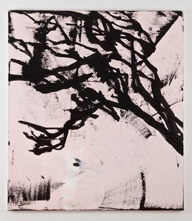 Charline von Heyl, Dusty Dafni, 2011, Acrylic on linen, 82 x 72 inches, 208.3 x 193 cm