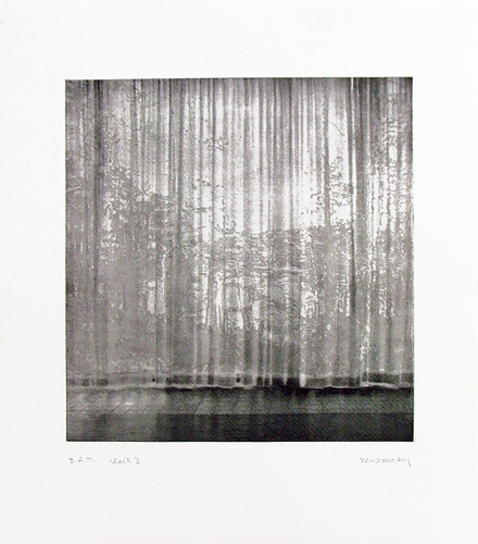 Paul Winstanley, Veil 3, 2008, Hand-drawn sugar lift aquatints with photo-etching