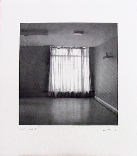 Paul Winstanley, Veil 8, 2008, Hand-drawn sugar lift aquatints with photo-etching