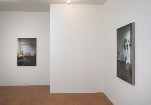 Paul Winstanley, Installation view, 2010