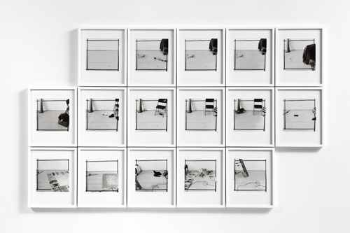 Uta Barth, Every Day, 1979-82/2010, Inkjet print, 16 framed photographs, 9 x 11 1/2 in.