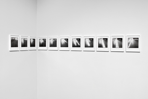 Uta Barth, One Day, 1979-82/2010, Inkjet print, 11 framed photographs, 9 x 11 1/2 in.