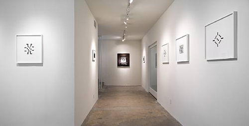 H.M., Installation view, 2009
