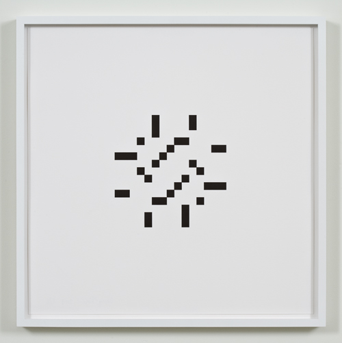 Kerry Tribe, Untitled (July 15, 1961), 2009, Letterpress print, 17 x 17 in.