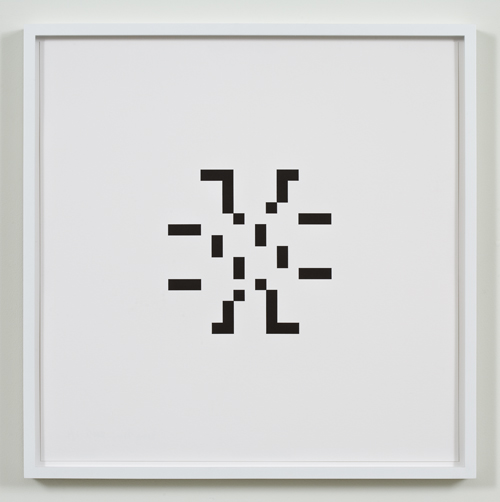 Kerry Tribe, Untitled (December 5, 1955), 2009, Letterpress print, 17 x 17 in.