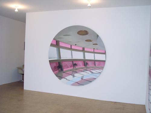 Paul Winstanley, Pod 2, 2007, Oil on linen, 70 in. diameter