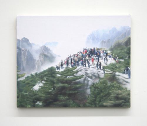 Paul Winstanley, On Bright Mountain, 2007, Oil on linen, 22 x 16 in. (55.9 x 40.6 cm)