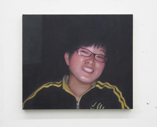 Paul Winstanley, Xiao Hu, 2007, Oil on linen, 16 3/4 x 19 in. (42.5 x 48.3 cm)