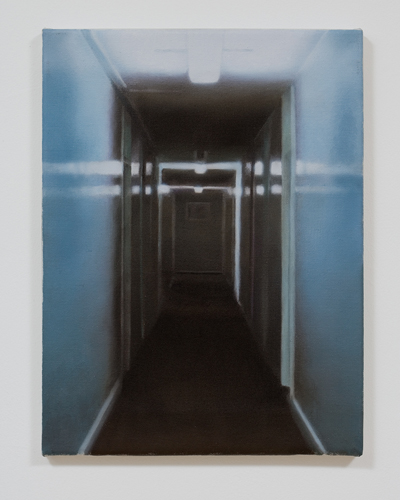 Paul Winstanley, Study for Passage 1, Oil on linen, 1999, 16 x 12 in. (40.6 x 30.5 cm)