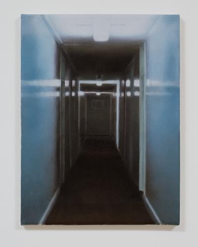 Paul Winstanley, Study for Passage 1, Oil on linen, 1999, 16 x 12 in. (40.6 x 30.5 cm)