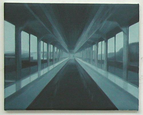 Paul Winstanley, Synthetic Yellow, Oil on linen, 1999, 12 x 16 in. (30.5 x 40.6 cm)