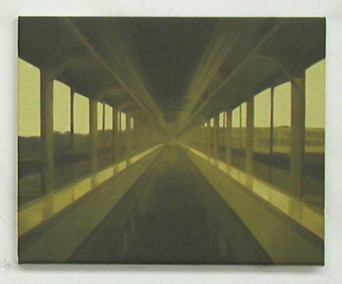 Paul Winstanley, Synthetic Blue, Oil on linen, 1999, 12 x 16 in. (30.5 x 40.6 cm)