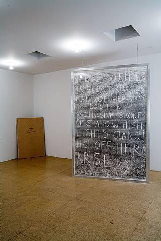 Fiona Banner, Installation view, 2006