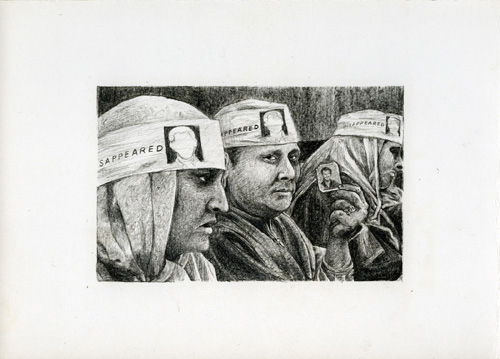 Rirkrit Tiravanija, Untitled (Demonstration Drawing 100), 2006, Graphite on paper