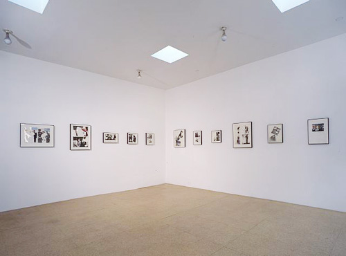 Maquettes 1987-1994, Installation view, 2006