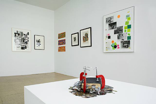Collage Effect, Installation view, 2006
