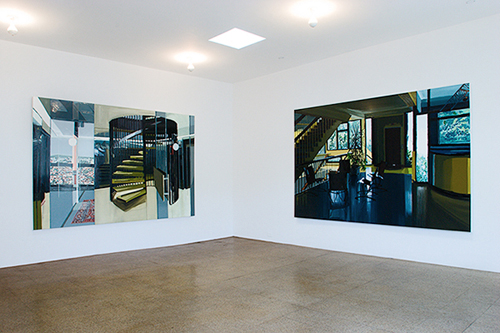 Kirsten Everberg, Installation view, 2005
