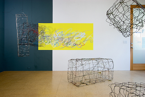 Periwinkles, Installation view, 2005