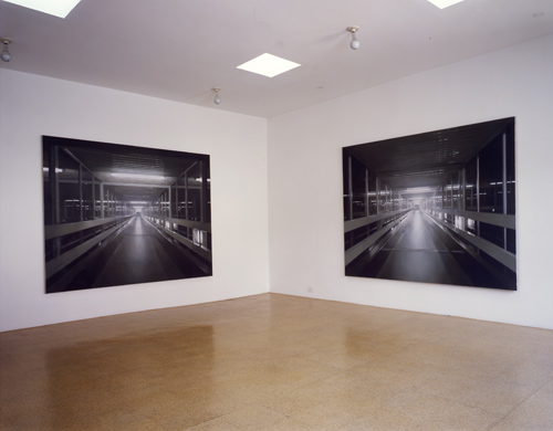 Paul Winstanley, Installation view, 2005
