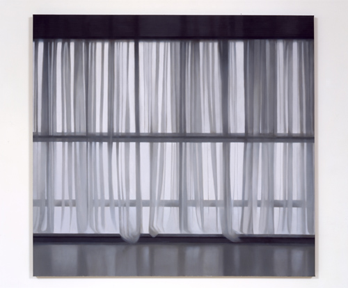 Paul Winstanley, Veil 15, 2005, Oil on canvas