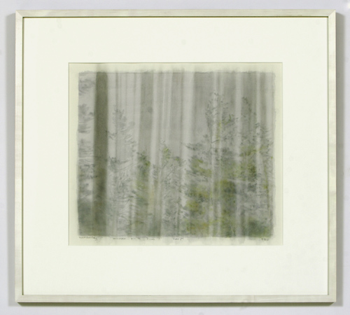 Paul Winstanley, Window ont he Pines 1, 2005, Watercolor, 43 x 51 cm