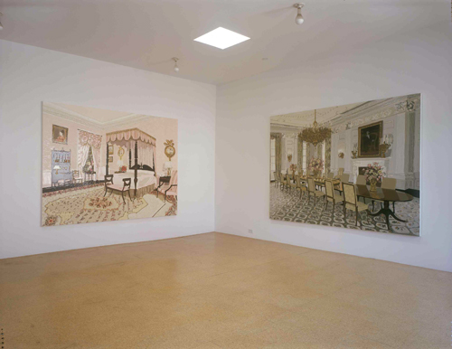 Kirsten Everberg, Installation view, 2004