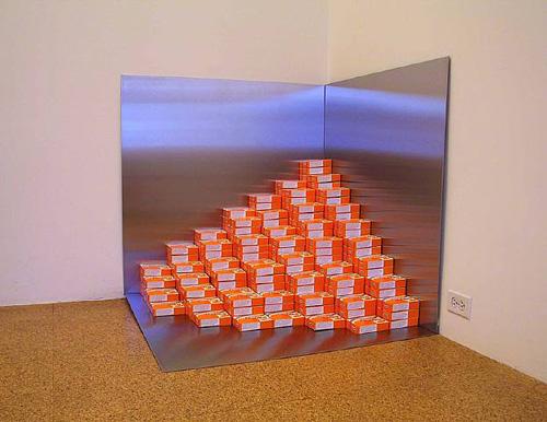 Rirkrit Tiravanija & SUPERFLEX, Social Pudding Corner, 2003, Mixed media