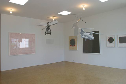 Fiona Banner, Installation view, 2003