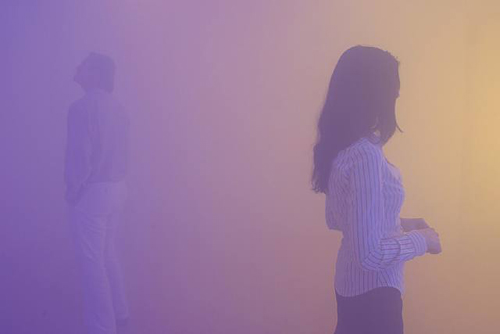 Ann Veronica Janssens, Installation view, 2003