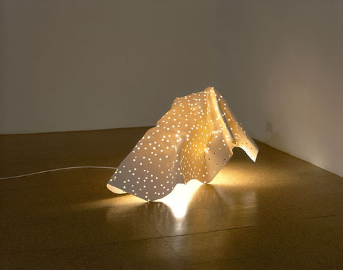 Jorge Pardo & Philippe Parreno, Untitled, 2002, Three lamps for different spaces (outside, gallery, and office)