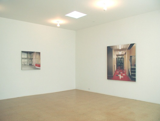 Paul Winstanley, installation view, 2002