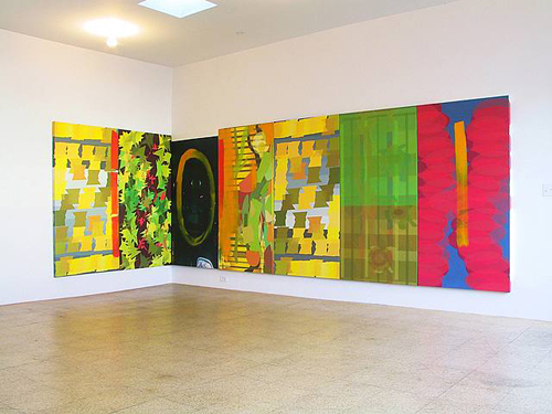 Jorge Pardo, Untitled, 2002, Mixed media, 72 x 224 in.
