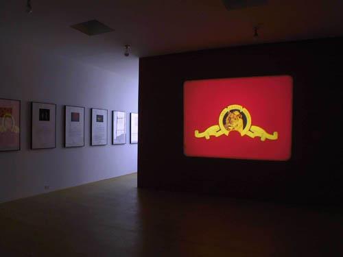 Jack Goldstein, Installation view, 2001