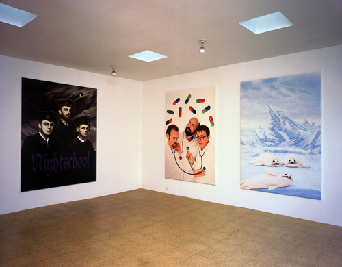 General Idea, installation view, 2001
