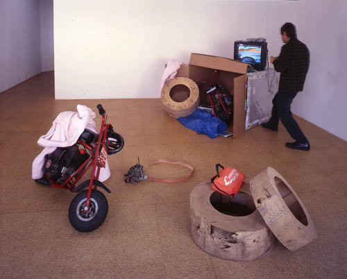 Ranch, Installation view, 2000