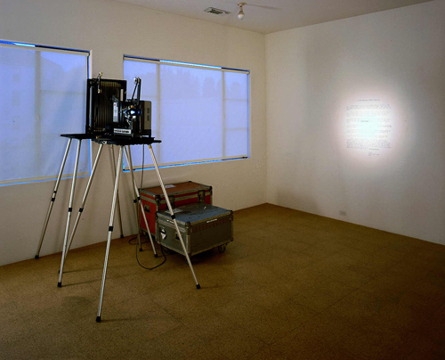 Love at Mount Vesuvius, Installation view, 2000
