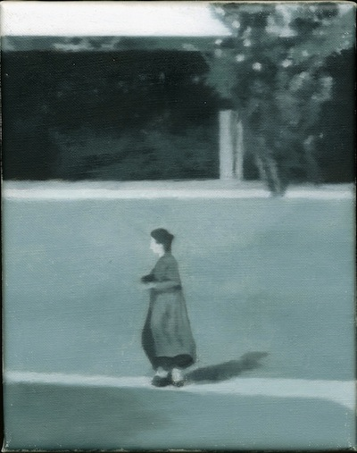 Paul Winstanley, Study for Still, 1995, oil on linen, 15.4 x 20.3 cm