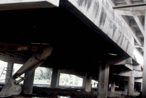 Rirkrit Tiravanija, Untitled (under the flyover #3), 1998-99, Ultra glossy c-print on vinyl frame in MDF, 20 1/2 x 14 3/4 in.