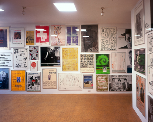 Together Again Like Never Before: The Poster Work of Michael Asher and Martin Kippenberger, Installation view, 1999
