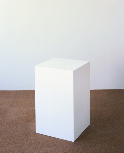 Fiona Banner, Avant Garde, 1998, Polystyrene, 26 3/4 x 16 x 16 in (67.0 x 40.6 x 40.6 cm)
