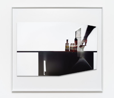 Uta Barth, In the Light and Shadow of Morandi (17.01), 2017, face mounted, raised, shaped,  Archival Pigment print in artist frame, 48.75 x 52.75 x 1.75 inches (framed), edition of 6, 2 APs.