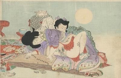 Ana Prvački collection, estampe Shunga, 1920
