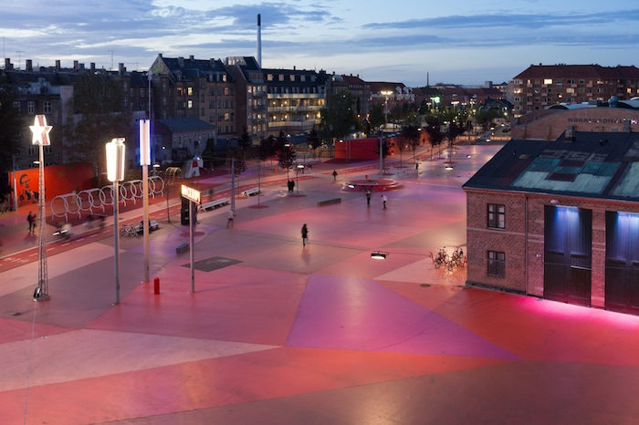 SUPERFLEX, in collaboration with Bjarke Ingels and Topotek 1, Superkilen, Copenhagen, Denmark