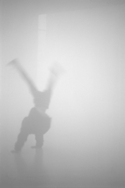 Ann Veronica Janssens, MuHKA, Antwerp, 1997, Artificial fog, natural light