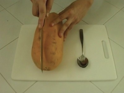 Ana Prvacki,   Papain is in , 2006, video, 2 minutes, edition of 5 plus 2 artist's proofs