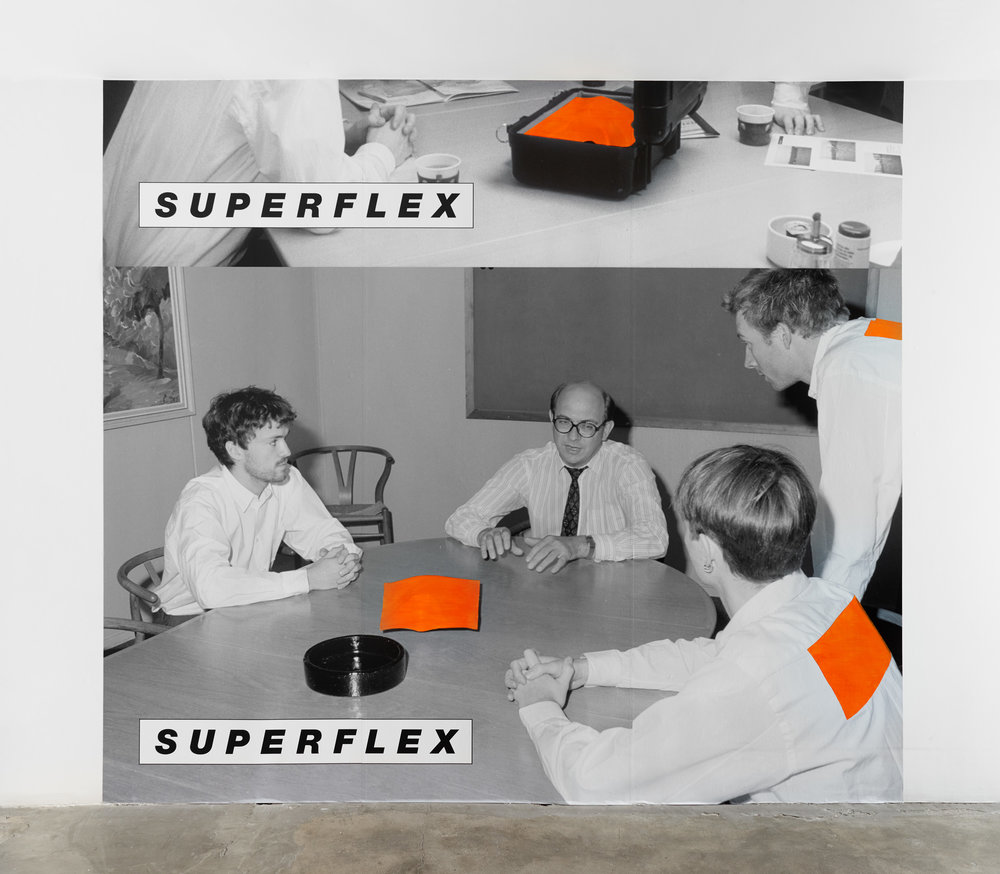 SUPERFLEX, Whatever Works, 2018. Installation view 1301PE.