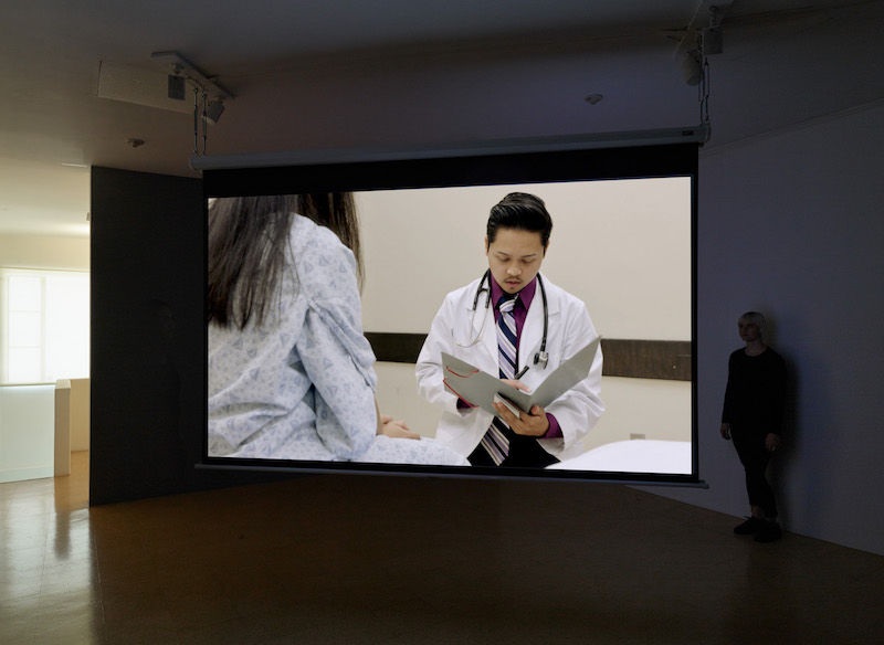 Kerry Tribe, Standardized Patient, 2018. Installation view 1301PE.