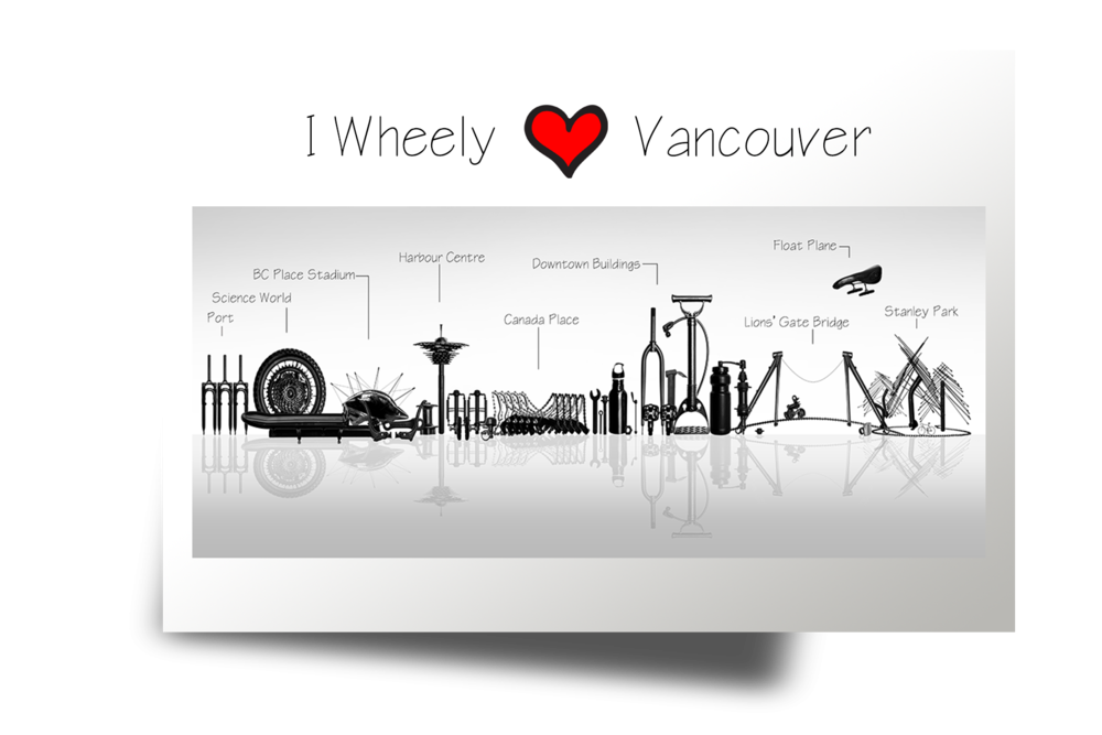 073 I Wheely LOVE Vancouver