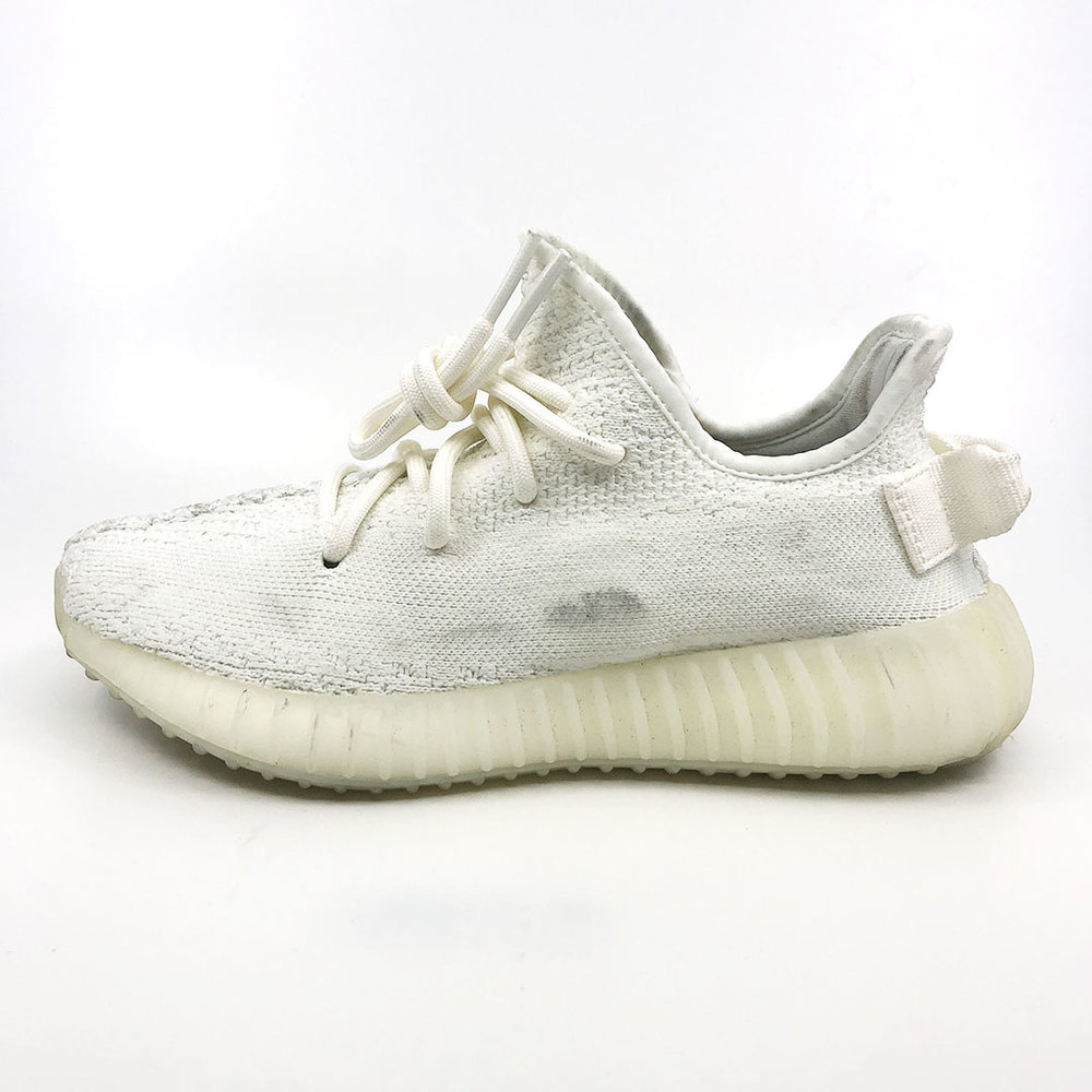 YEEZY 350 V2 TRIPLE WHITE  BEFORE