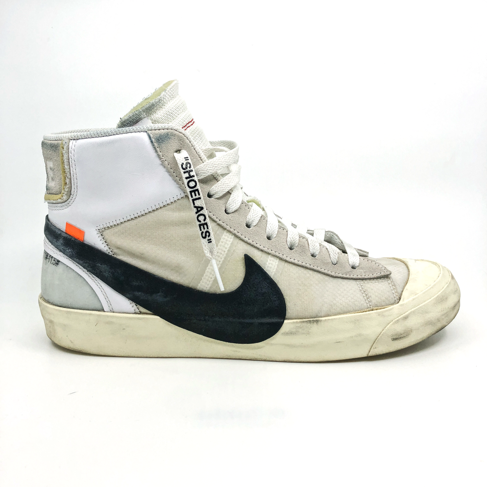 OFF-WHITE X NIKE BLAZER MID  BEFORE